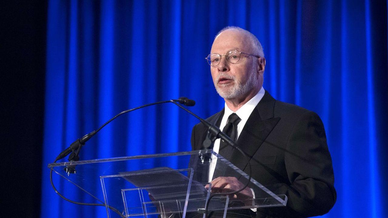 Paul Singer, fondateur du fonds activiste Elliott, a dépensé plus de 8milliards d'euros, en 2020, en prise de participation dans des sociétés cotées.