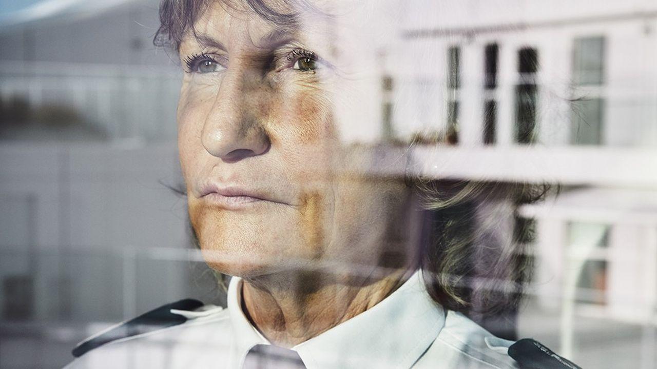 Pascale Dubois, directrice centrale des compagnies républicaines de sécurité.