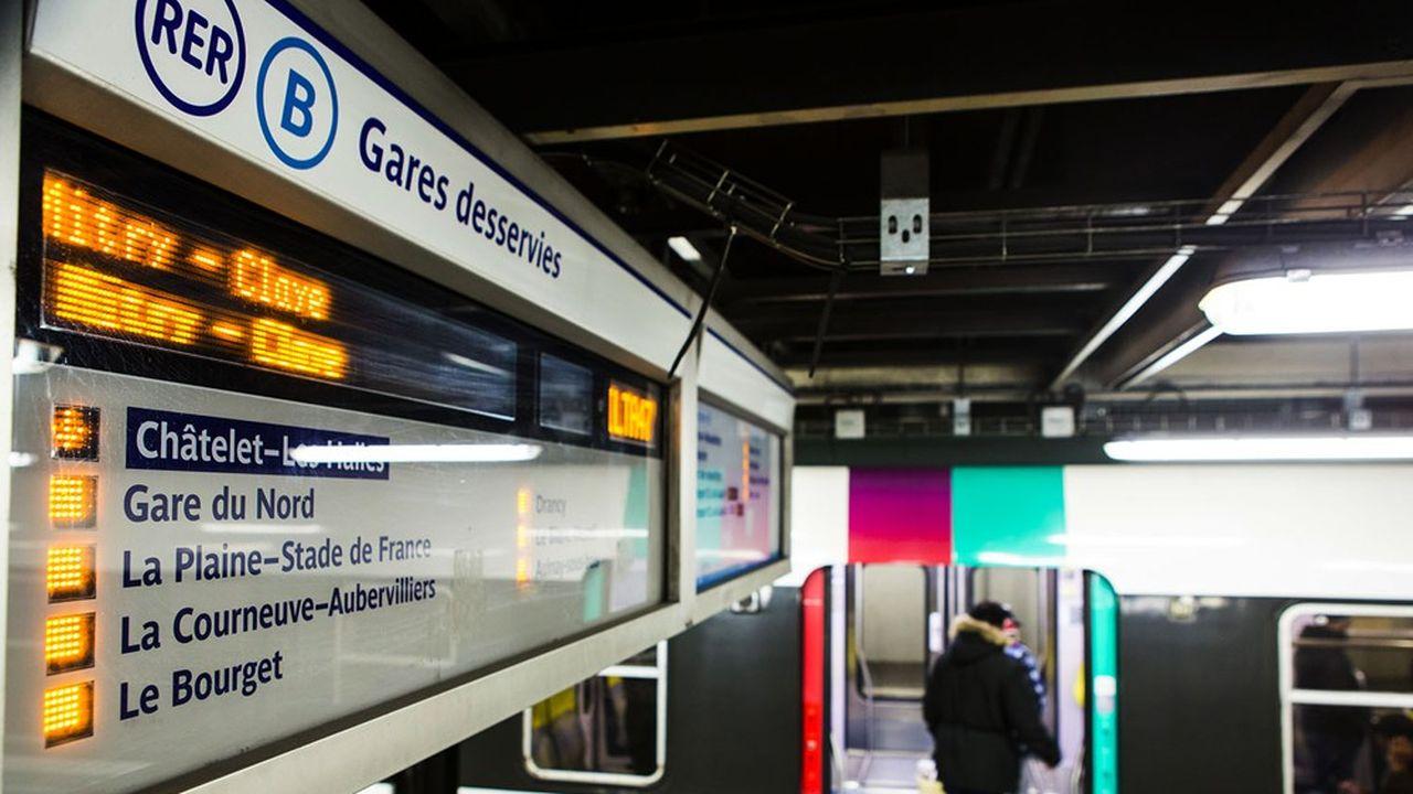 Le RER B, qui couvre l'Ile-de-France du nord au sud, est la seconde ligne la plus fréquentée d'Europe.