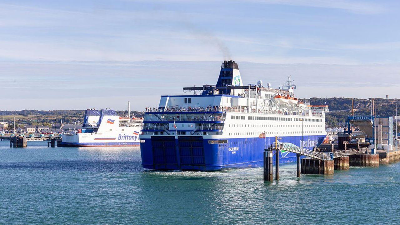 Ports de Normandie, propriétaire des ports de Caen-Ouistreham, Cherbourg (photo) et Dieppe, s'attend à une augmentation importante du trafic maritime avec l'Irlande.