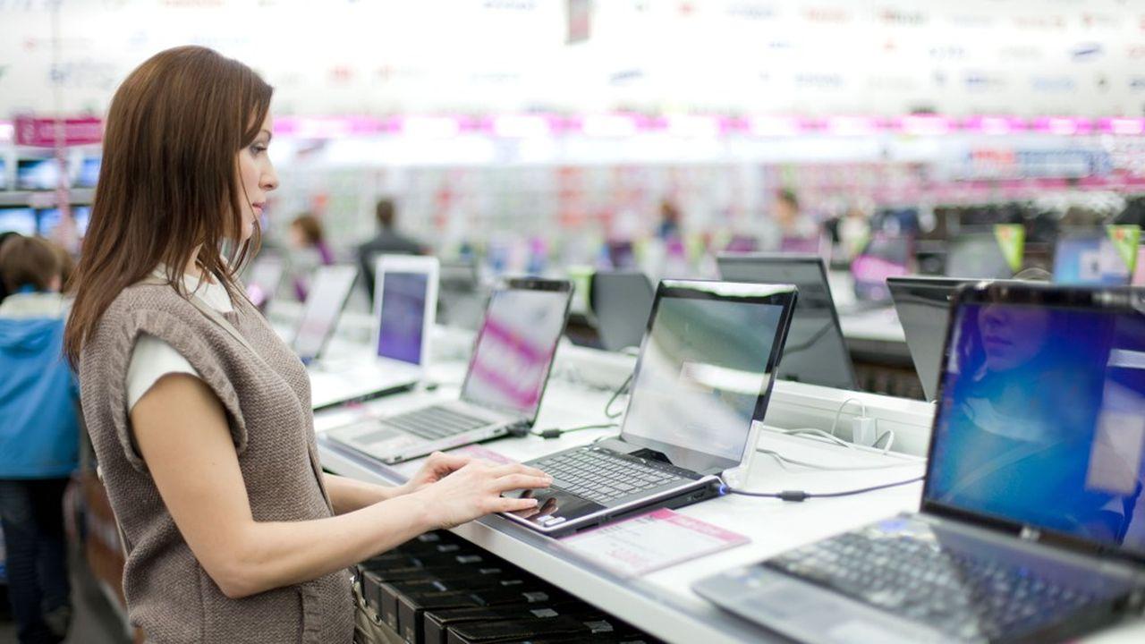En France, les ventes d'ordinateurs ont progressé de 9% en un an, en volume.