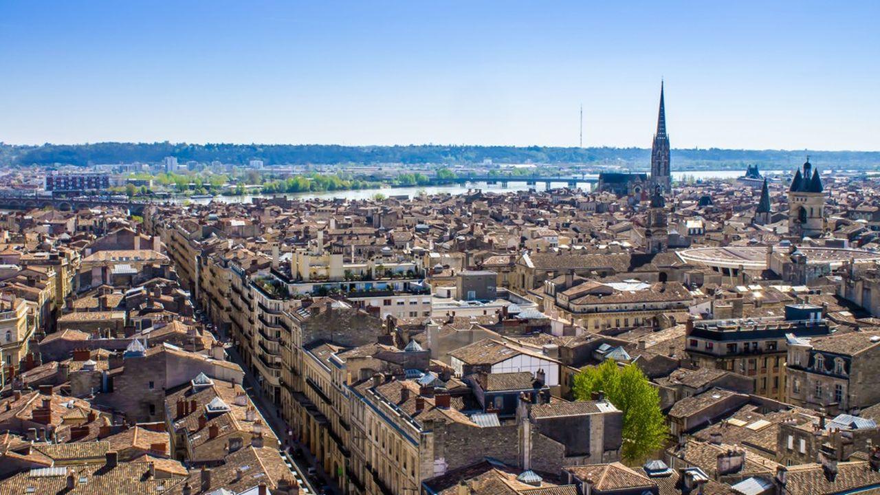 Bordeaux a un prix moyen de 4.624,00euros du mètre carré.