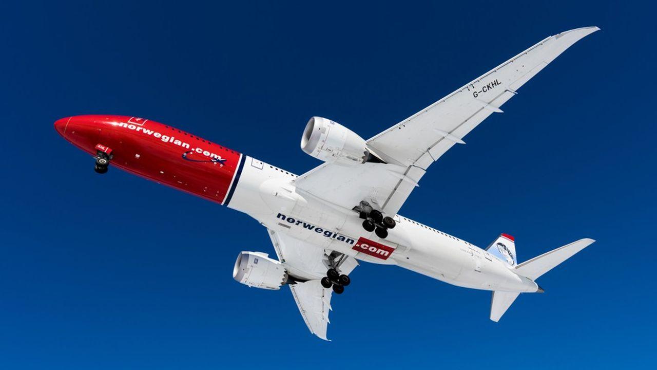 Les Boeing 787 au nez rouge de Norwegian vont retourner chez leurs loueurs irlandais et américains.
