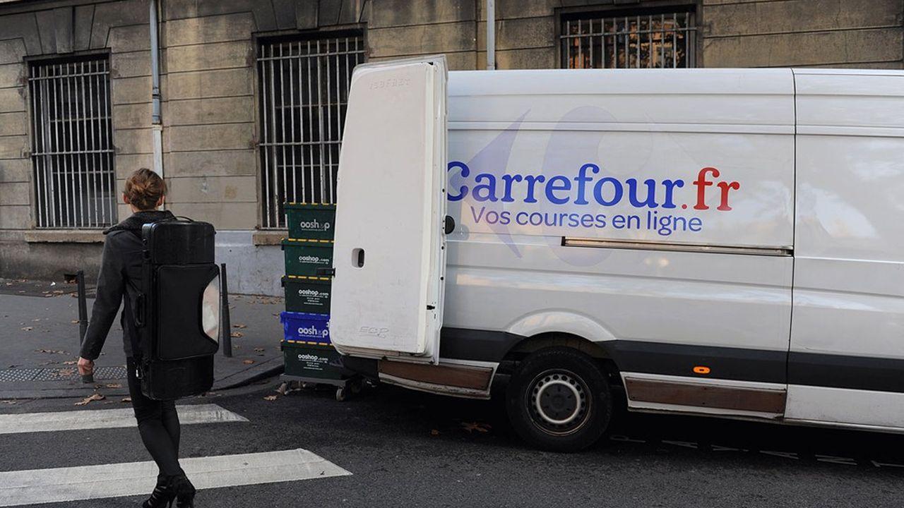 Pour lutter contre Amazon, Carrefour investit massivement dans le e-commerce.
