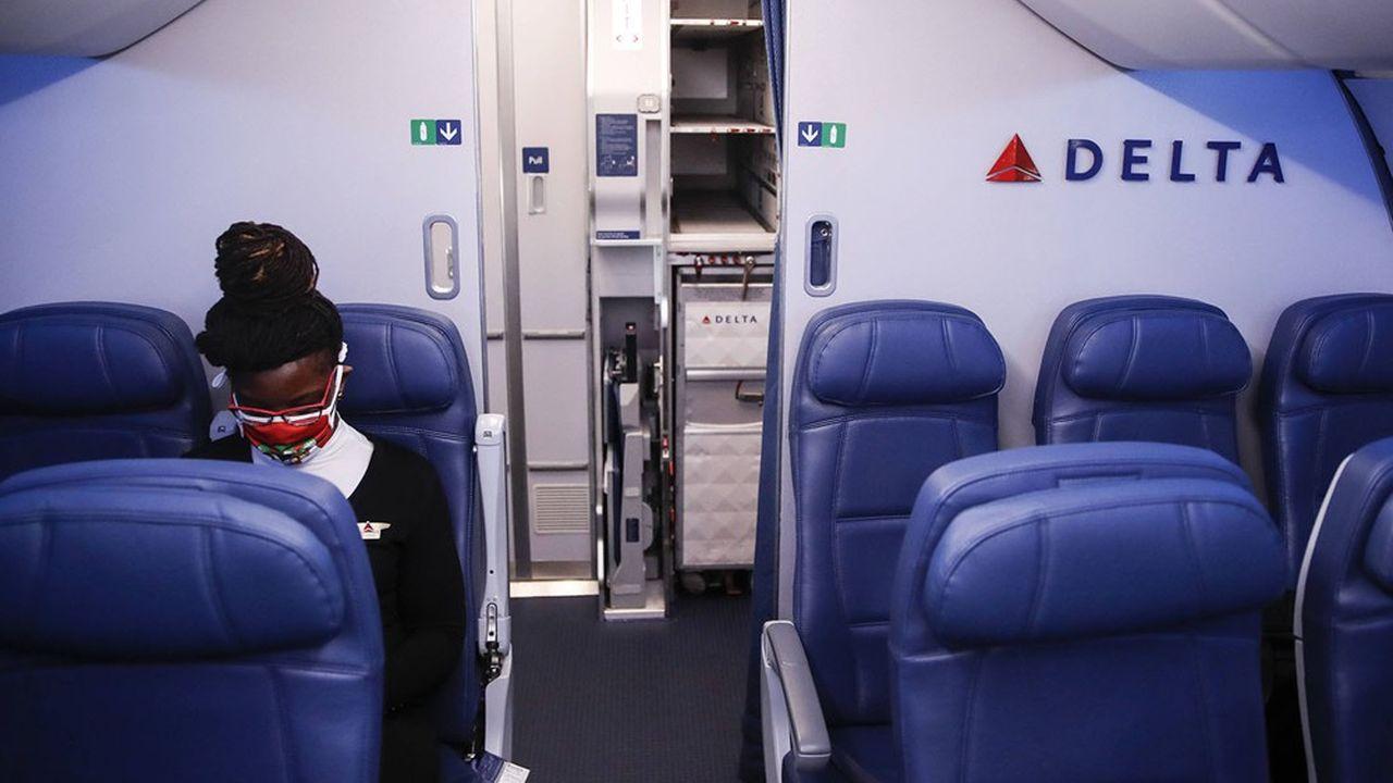 Comme les autres grandes compagnies, Delta a perdu 70% de son activité passager en 2020.