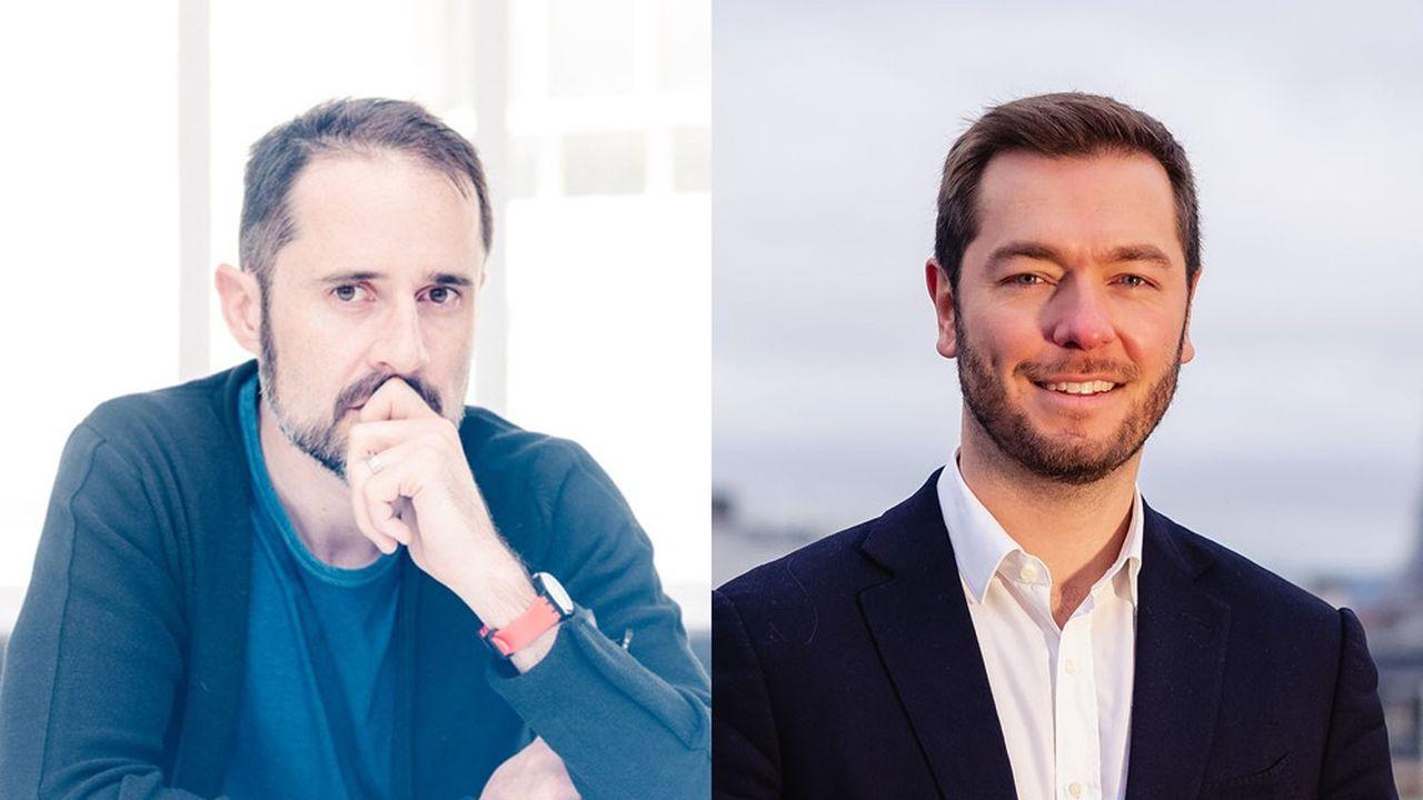 Avec le rachat de Glose, fondé par Nicolas Princen (à droite), Evan Williams effectue la première acquisition de Medium en dehors des Etats-Unis.