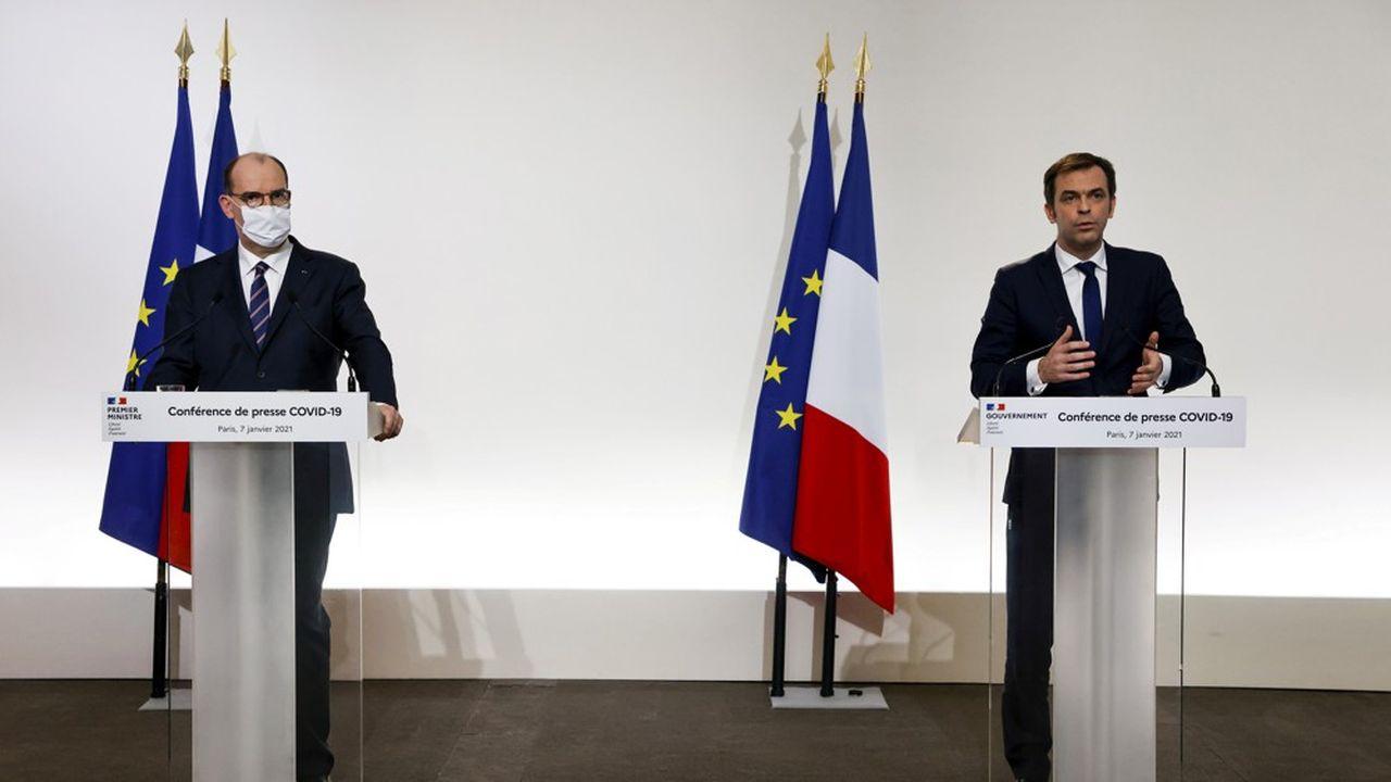 Le Premier ministre, Jean Castex, et le ministre de la Santé, Olivier Véran, ont fait le point ce jeudi sur l'évolution de la stratégie vaccinale.