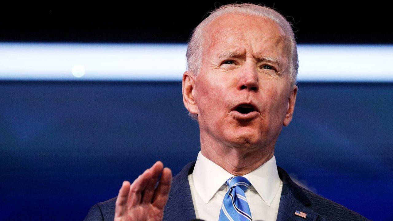 «Un nombre croissant d'économistes de haut niveau s'accordent à dire qu'en cette période de crise, avec des taux d'intérêt à des niveaux historiquement bas, nous ne pouvons pas nous permettre l'inaction», a expliqué Joe Biden, jeudi lors d'une allocution à Wilmington (Delaware).