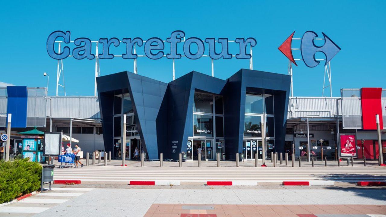 Un hypermarché Carrefour.
