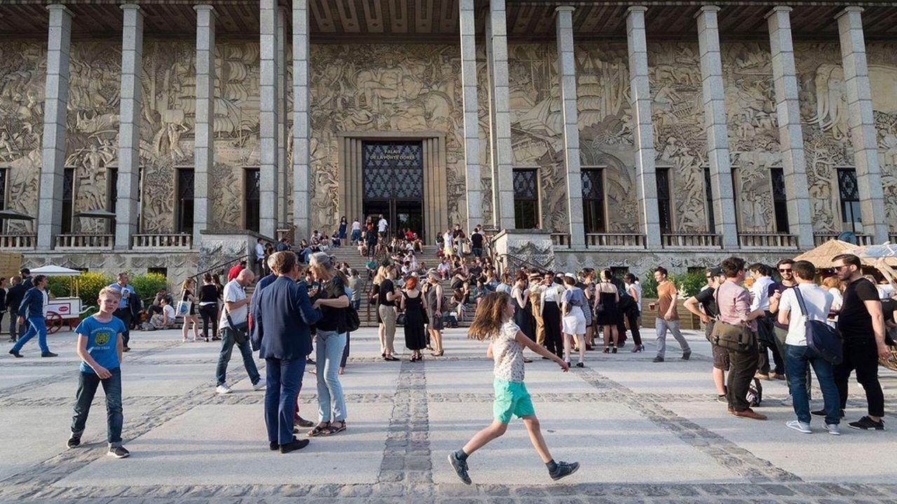 Le Palais de la Porte Dorée va bénéficier d'uneenveloppe de travaux de 6,9millions d'euros.