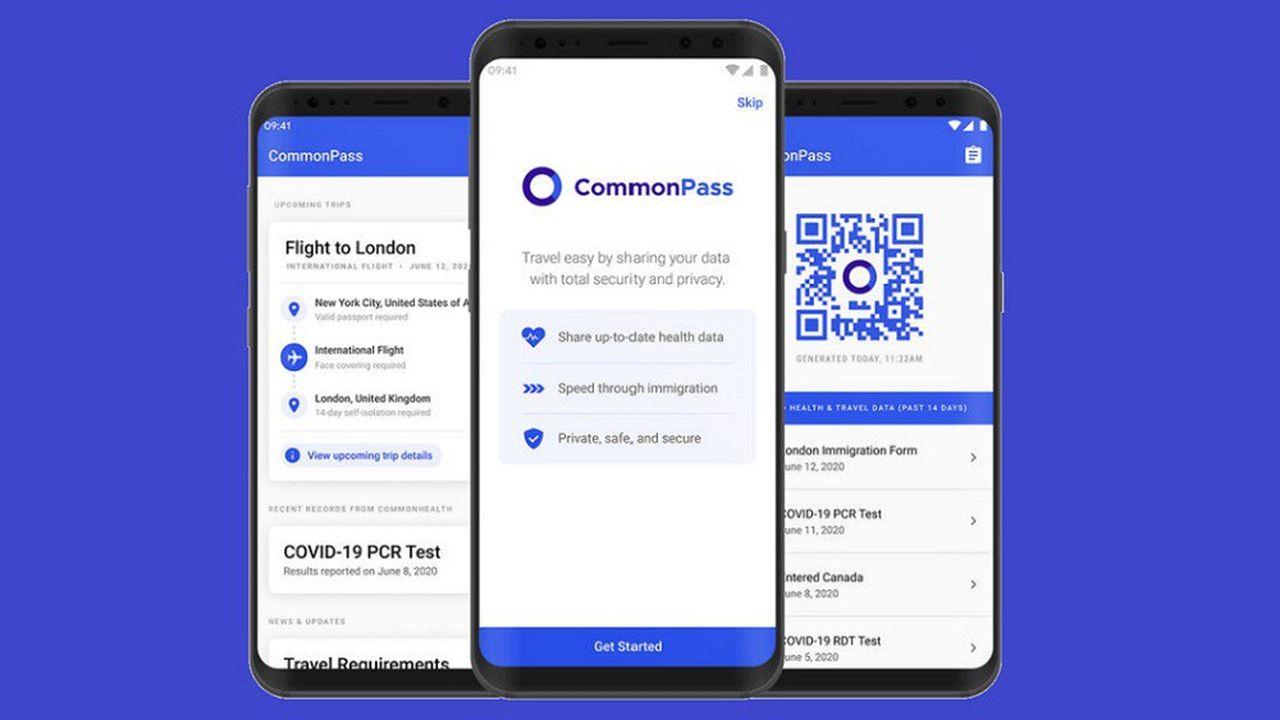 La fondation Commons Project, membre de la coalition VCI, a déjà mis au point l'application CommonPass.