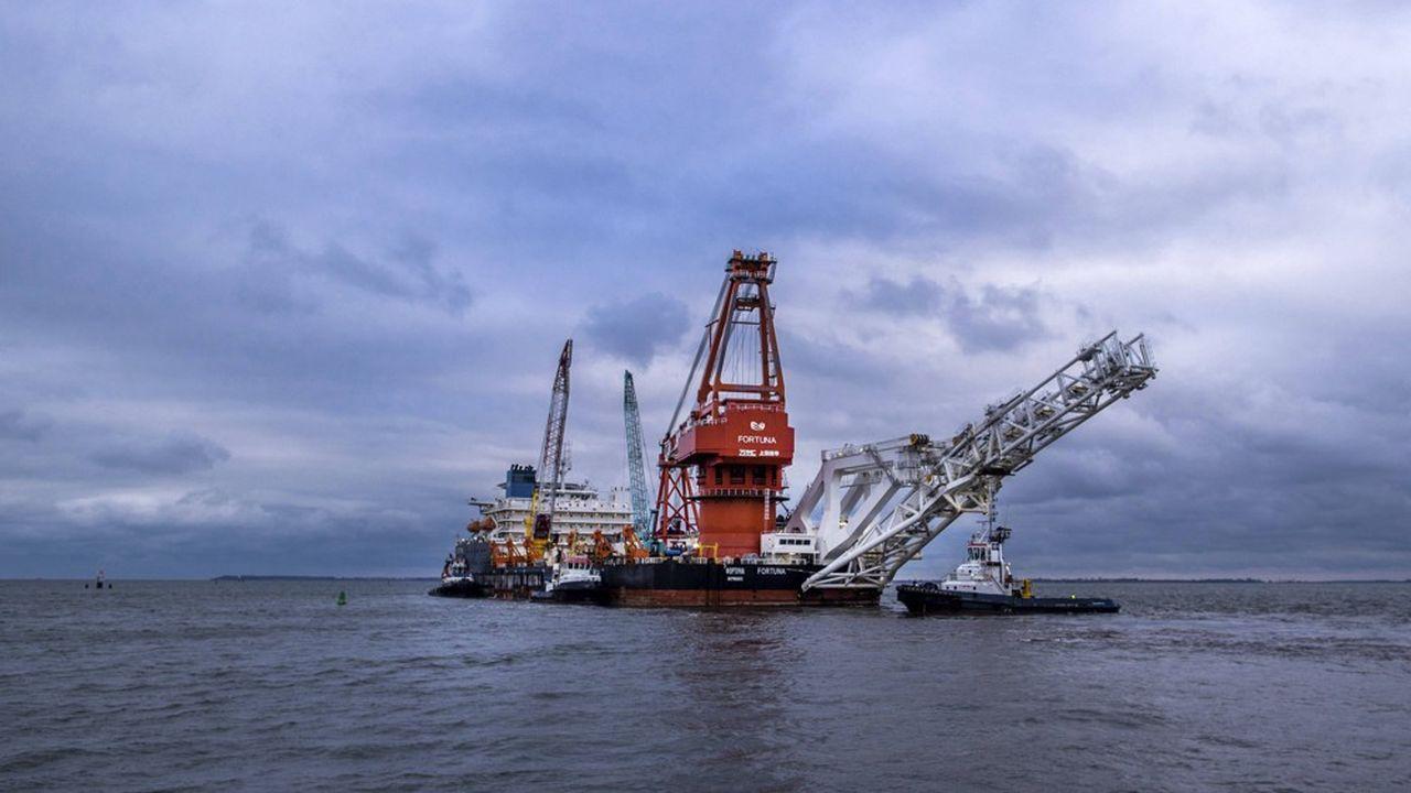 Le navire russe Fortuna, chargé d'installer les derniers 150 kilomètres du gazoduc Nord Stream 2, a quitté jeudi le port de Wismar, dans le nord de l'Allemagne.