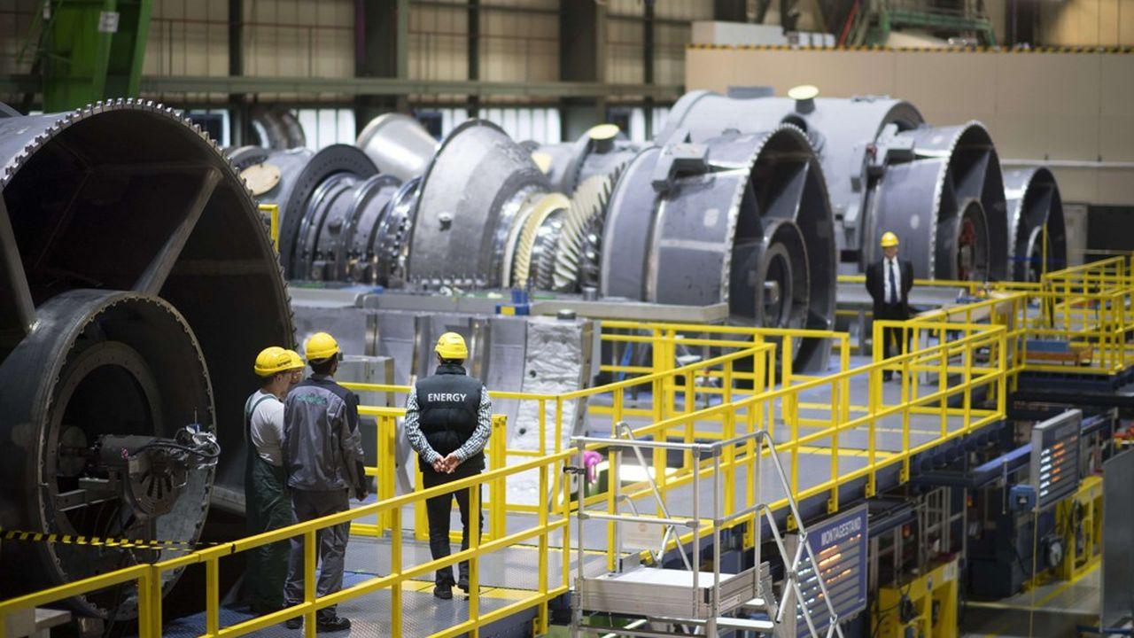 Le conglomérat américain General Electric (GE) a déposé jeudi plainte contre son concurrent allemand Siemens Energy. SIPA/1703031230