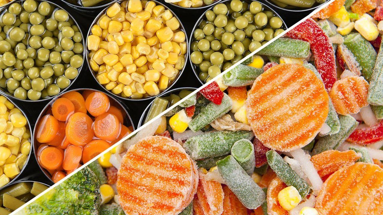 L'effet confinement a joué à plein, provoquant une ruée au printemps sur les légumes surgelés et en conserve - les ventes avaient alors respectivement bondi de 31 et 28%.
