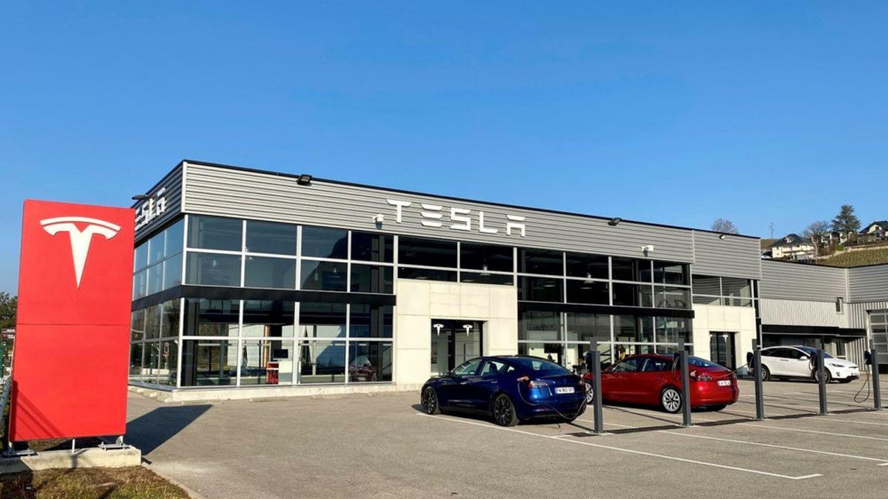 Centre Tesla Chambery - Janvier2021 - Tesla