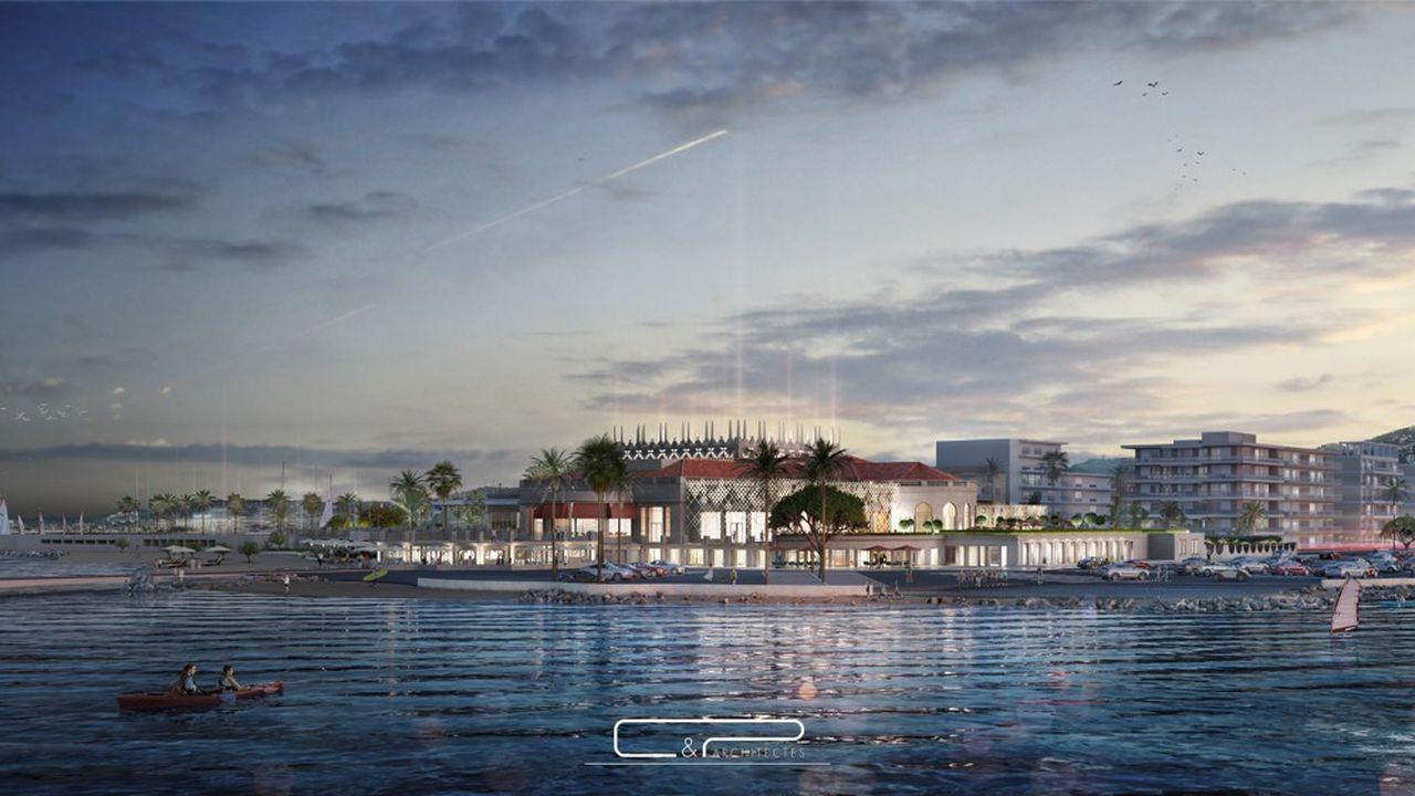 Le futur Palm Beach de Cannes est appelé à devenir une luxueuse destination de loisirs à l'horizon 2023.