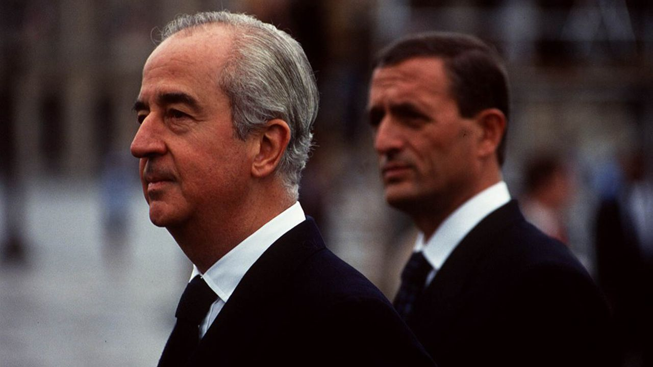 Edouard Balladur et François Léotard, en 1993.