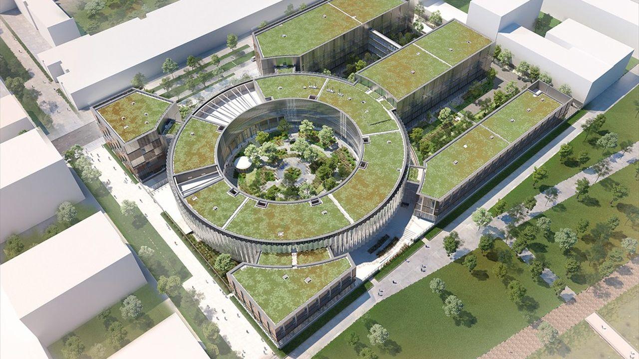 Servier a investi 377millions dans son futur centre de R & D de Saclay