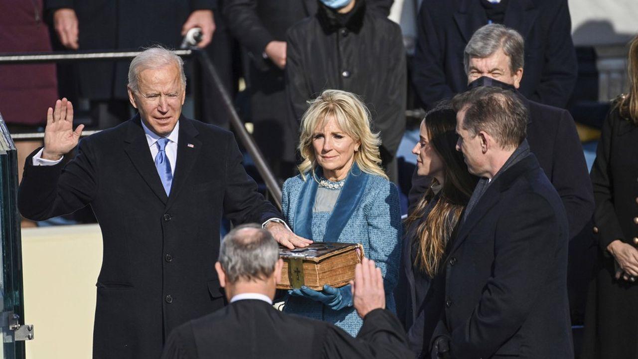 Joe Biden est investi comme le 46e président des Etats-Unis.