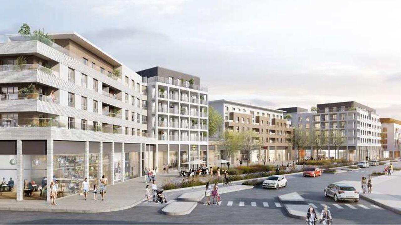 L'ancienne friche industrielle où doit être construit le quartier a été rachetée à la SNCF pour plus de 3,1millions d'euros.