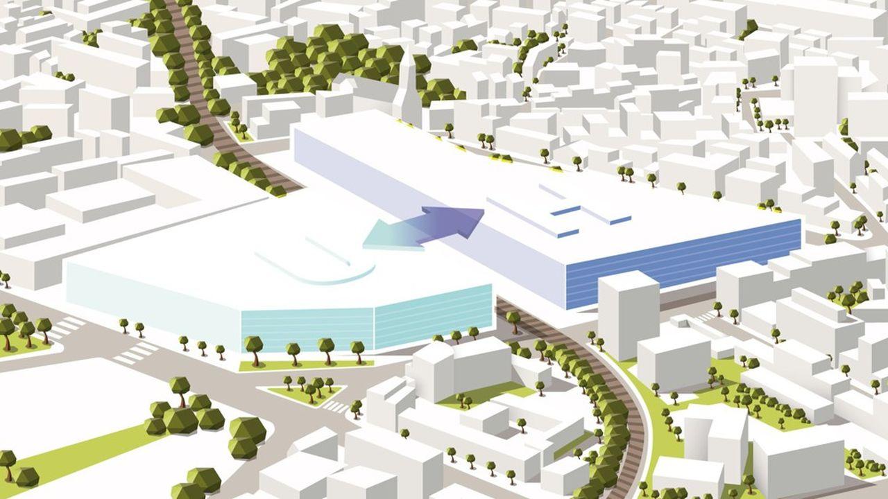 D'ici à 2028, ce nouveau site doit accueillir sur 220.000m2 la fusion des hôpitaux Bichat-Claude-Bernard, à Paris (18e), et Beaujon, à Clichy (Hauts-de-Seine).