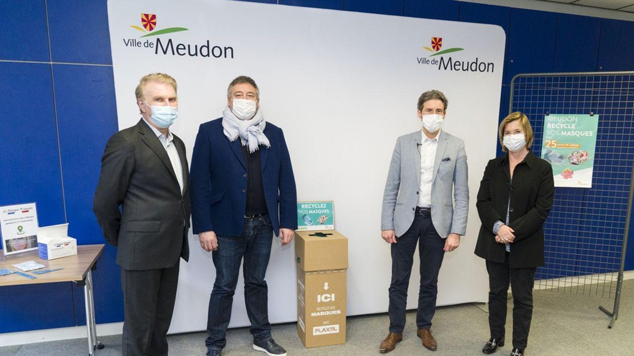 Marchés, écoles et bâtiments publics vont être dotés de boîtes dans lesquelles les habitants pourront jeter leurs masques