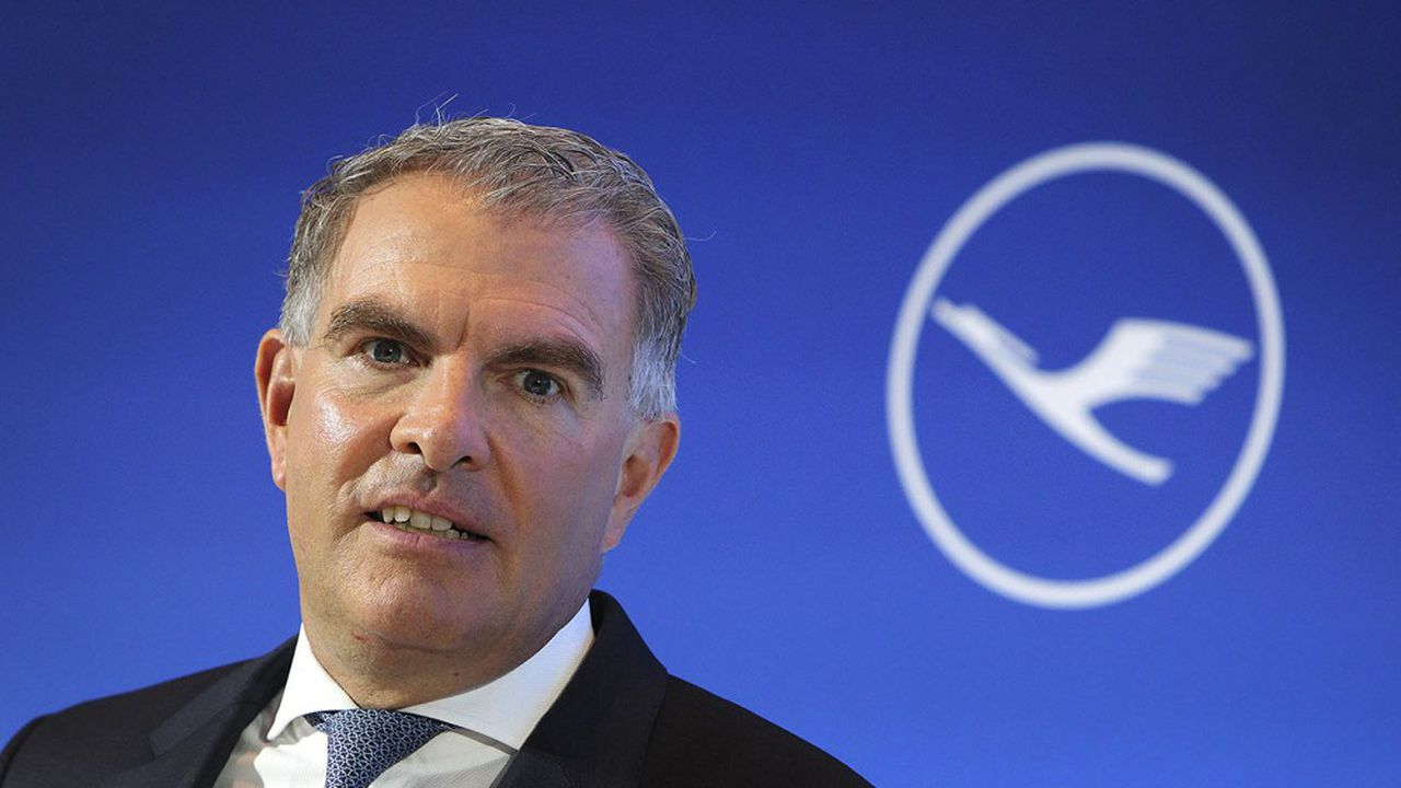 Le PDG du groupe Lufthansa, Carsten Spohr, table sur une reprise au troisième trimestre.