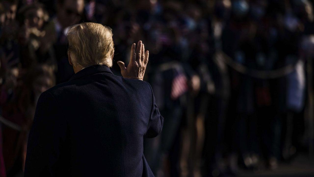 Rente, protection, renseignements : les avantages de l'ex-président Trump