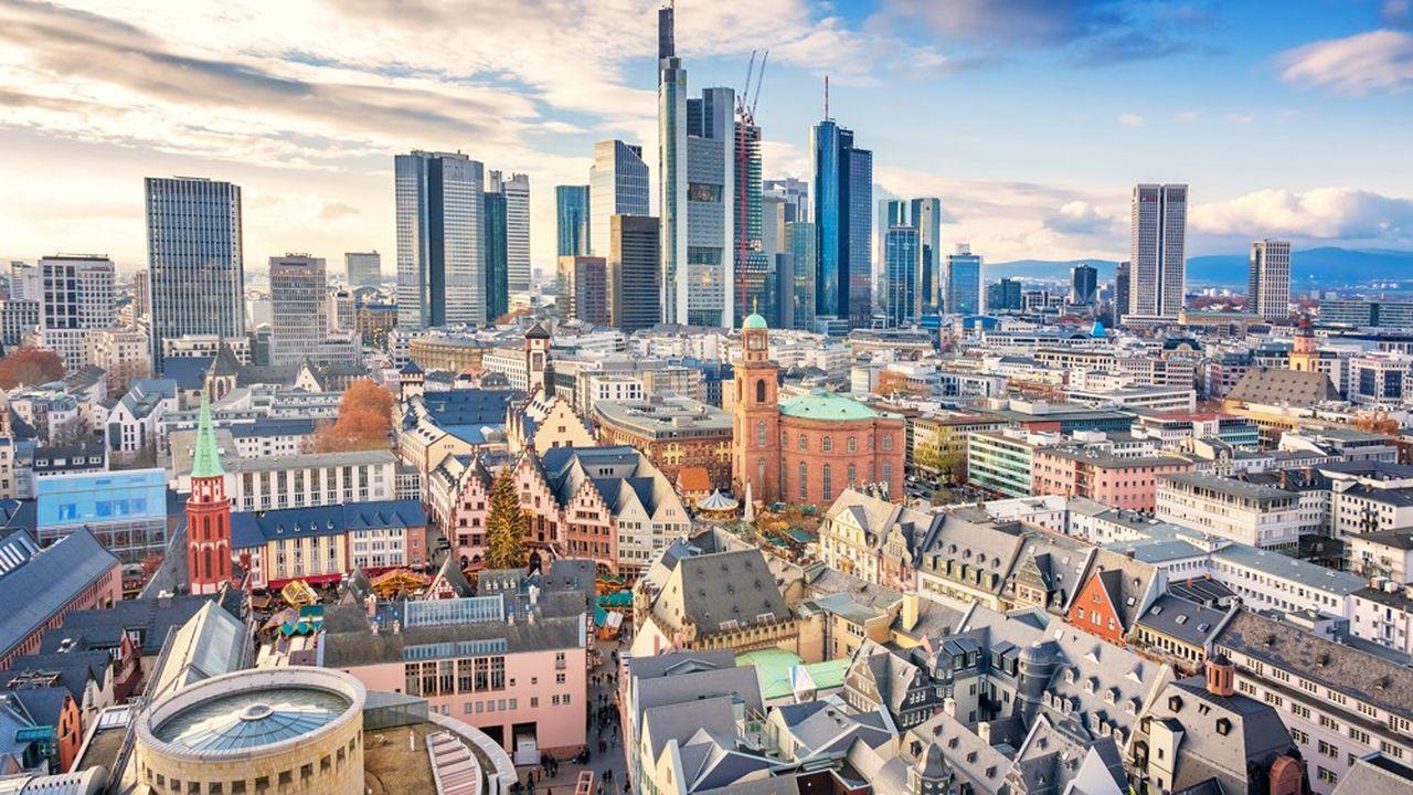 La Banque centrale européenne à Francfort suit de près l'évolution de l'euro, encore trop élevé.