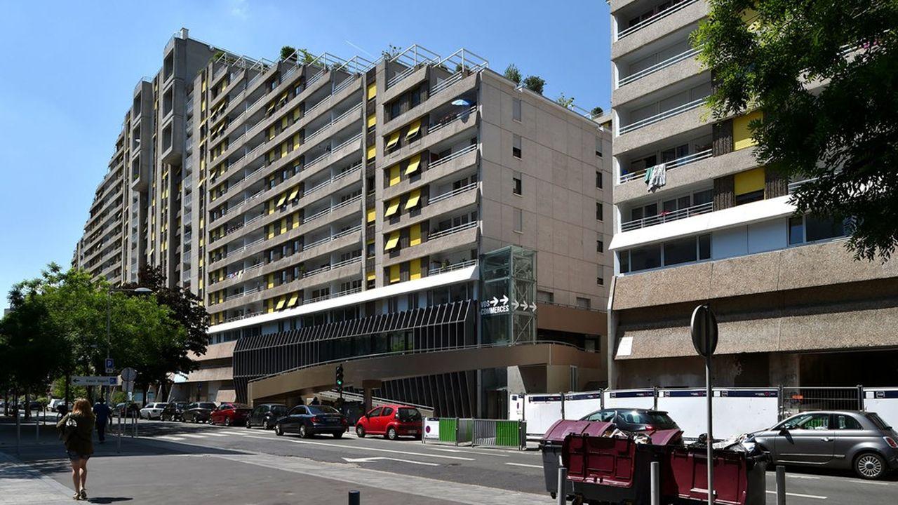 Des logements sociaux à Boulogne-Billancourt. La commune fait partie des villes carencées au regard de la loi SRU.