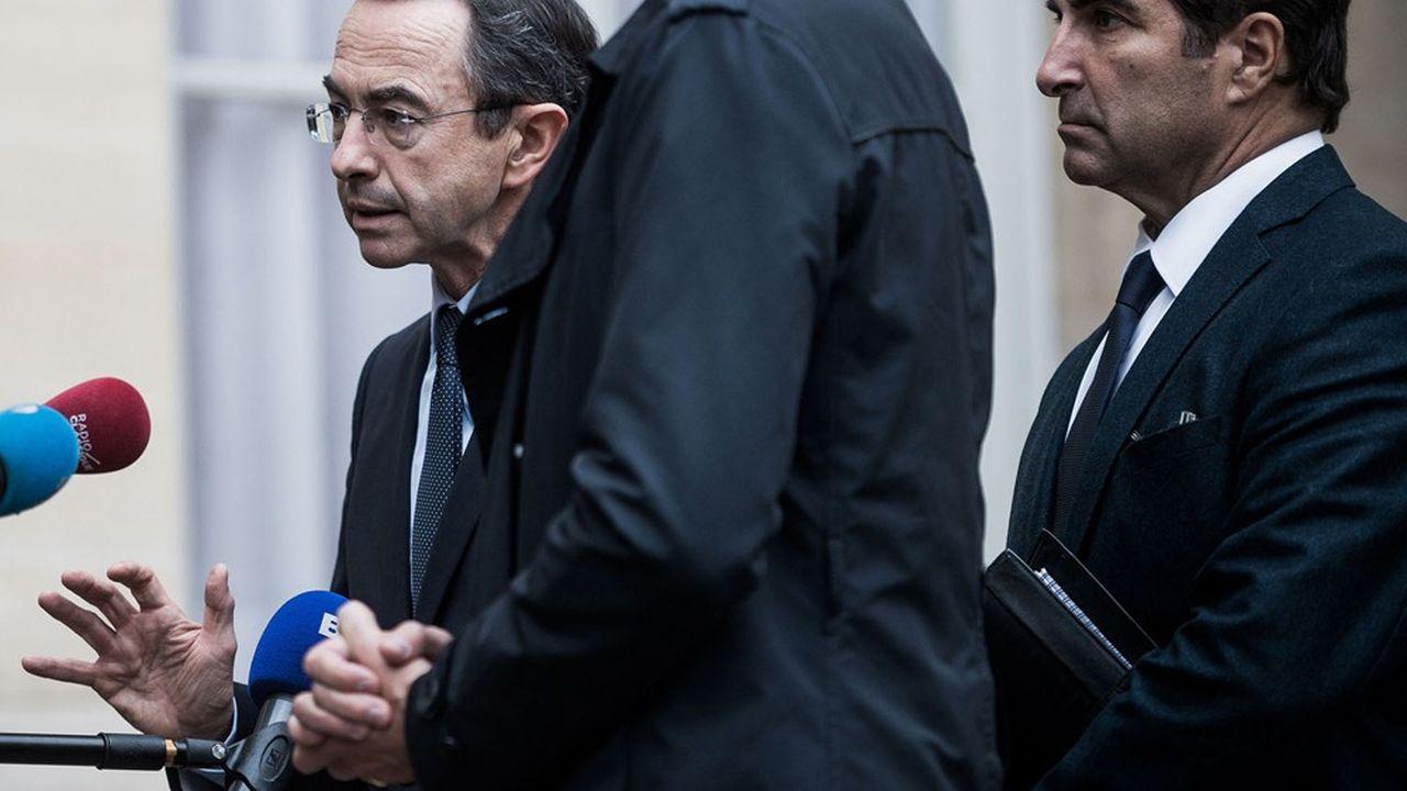 Bruno Retailleau et Christian Jacob.