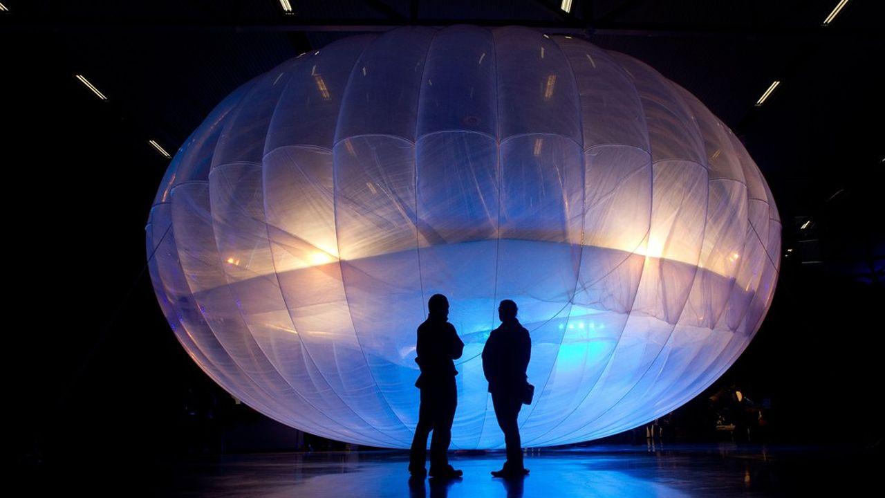 Alphabet met fin à Loon, son projet d'accès internet par ballons