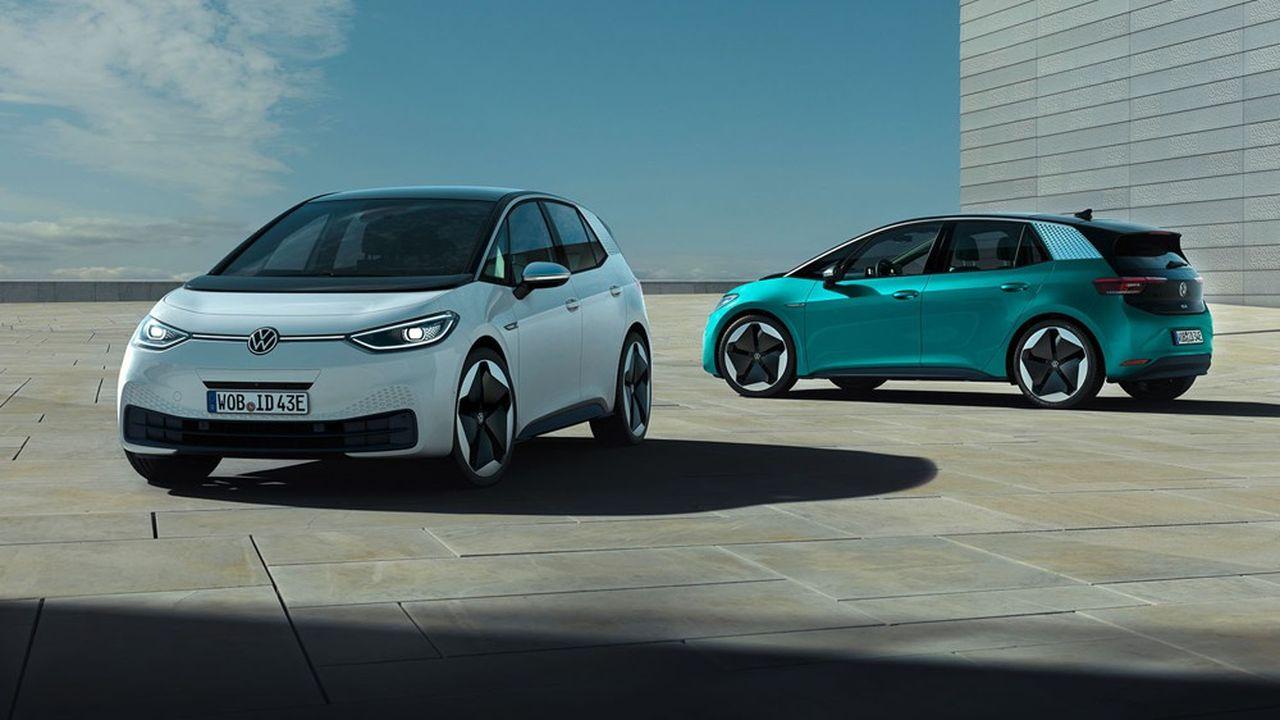 La mise sur le marché trop tardive de l'ID3, son premier modèle nouvelle génération 100% électrique, a sans doute coûté à Volkswagen l'atteinte de son objectif CO2.
