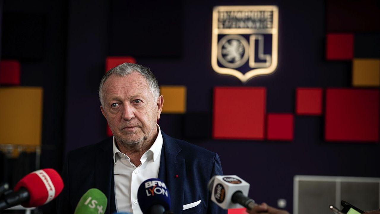 Jean-Michel Aulas, président de l'Olympique Lyonnais, dit rester confiant.