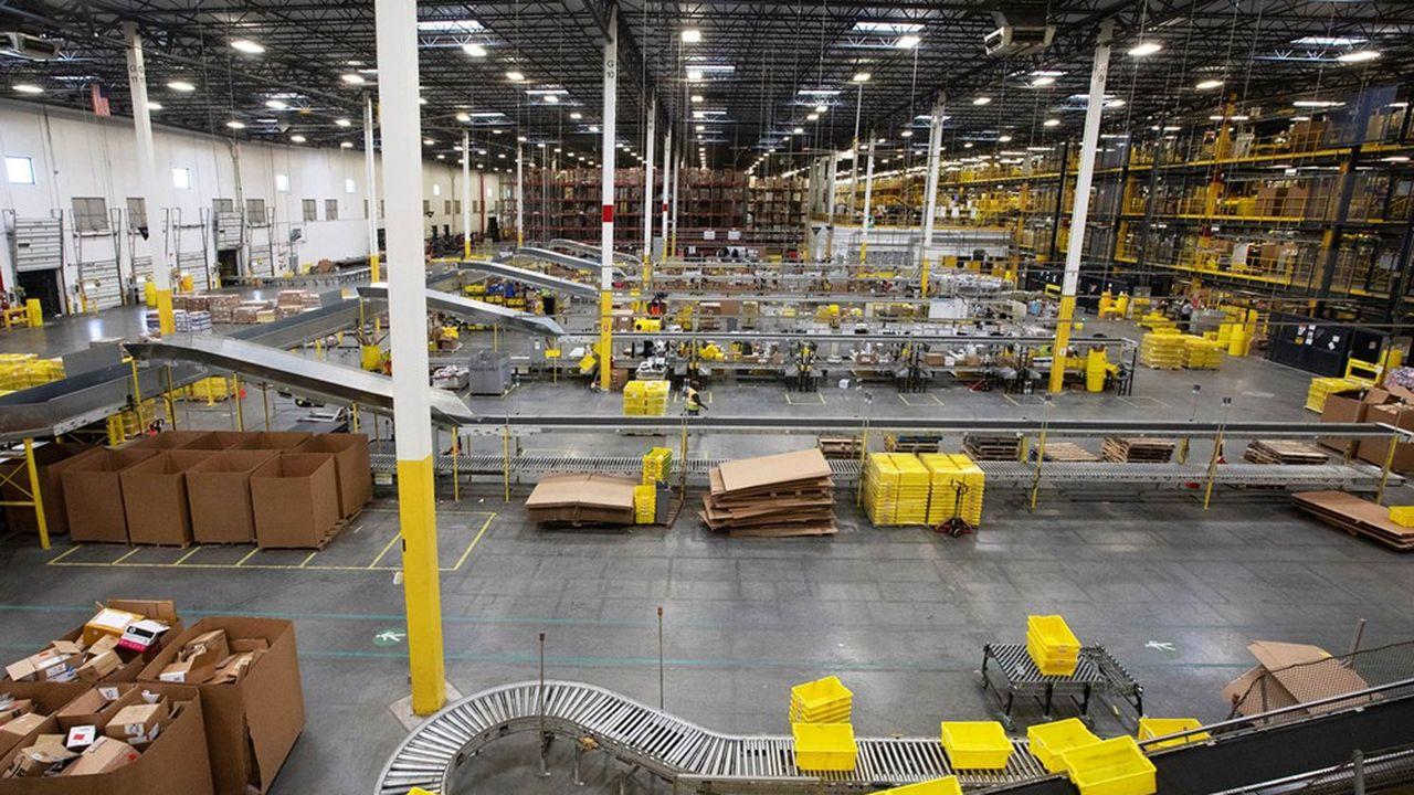 Les immenses centres de distribution d'Amazon, répartis stratégiquement sur le territoire, pourraient constituer un maillage des plus utiles.