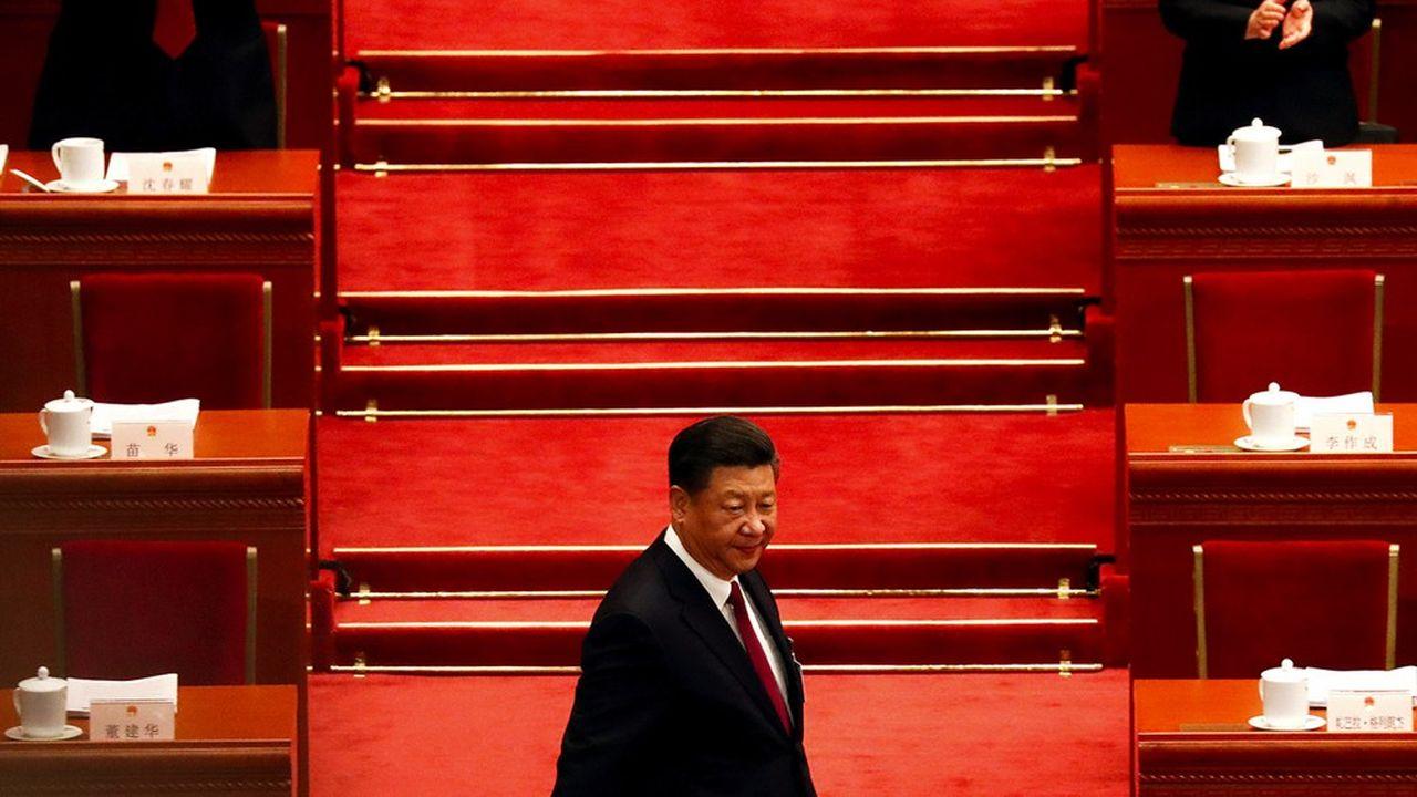 Le président chinois, Xi Jinping, est le premier orateur de premier plan attendu au Forum de Davos -qui n'a pu se tenir dans la station suisse cette année à cause du Covid-19.