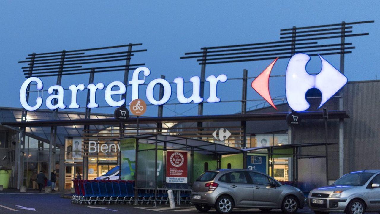 Un hypermarché Carrefour à Saint-Herblain (Loire-Atlantique).