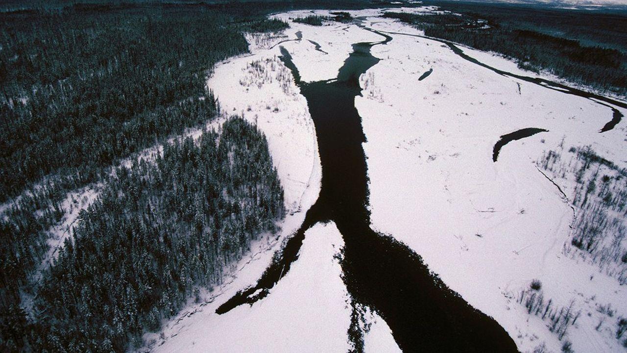 Monts de Verkhoiansk, rivière Topo, Yakoutie, Sibérie orientale, Fédération de Russie. - Credit: Marc Garanger / Aurimages