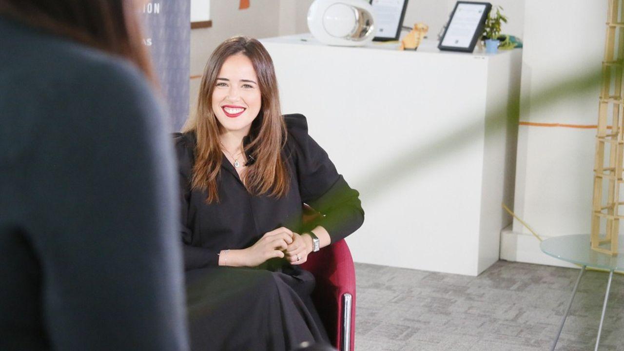 Dounia Belghiti, 34 ans, a lancé PhDTalent pour créer des ponts entre la recherche et la société.