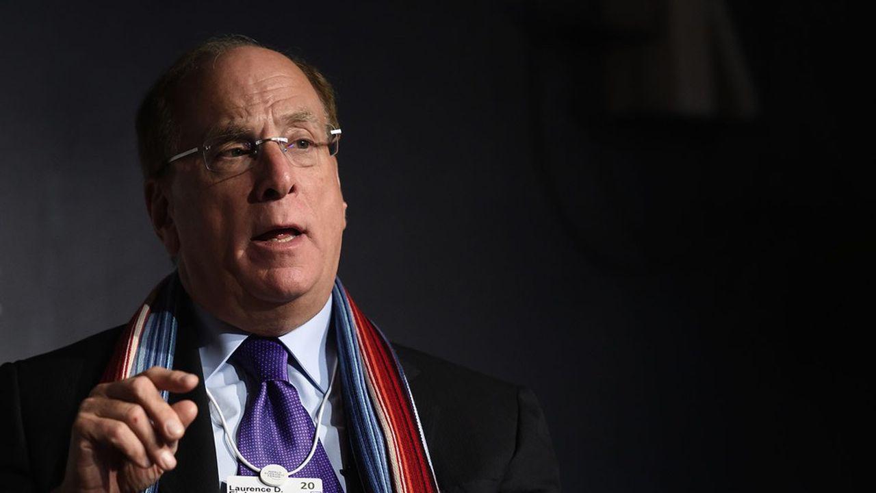 Larry Fink, le PDG de BlackRock, défend la neutralité carbone en 2050.