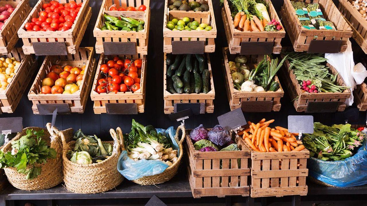 L'offre en fruits et légumes bio représente 10% de la production totale en France.