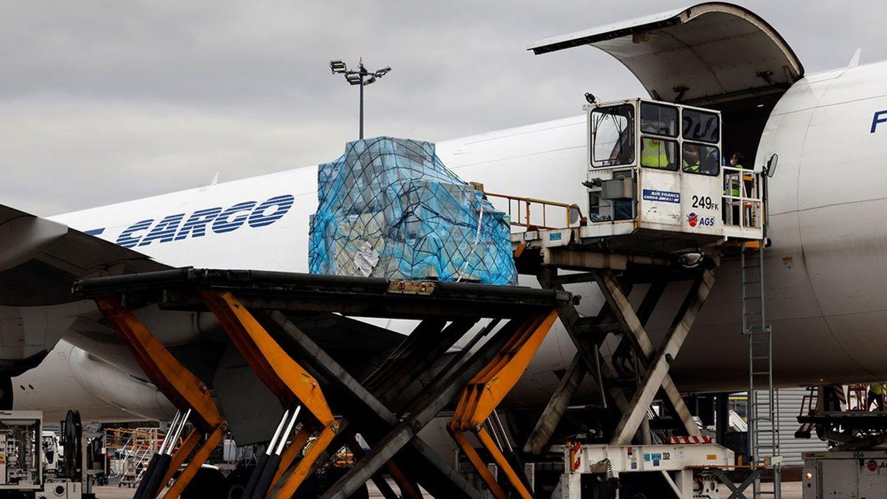 Les avions-cargos d'Air France se sont retrouvés en première ligne depuis le début de la crise sanitaire.