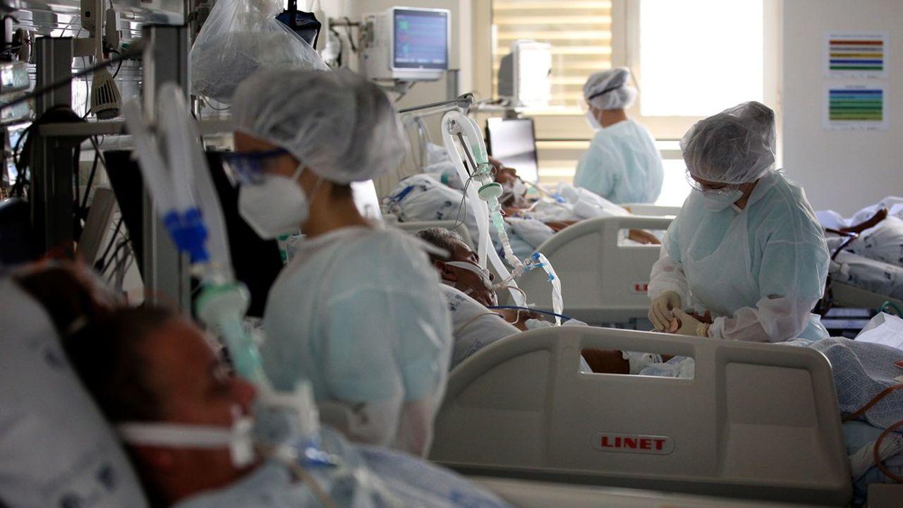 La capacité du réseau hospitalier portugais est saturée par l'intensité de la troisième vague de la pandémie.