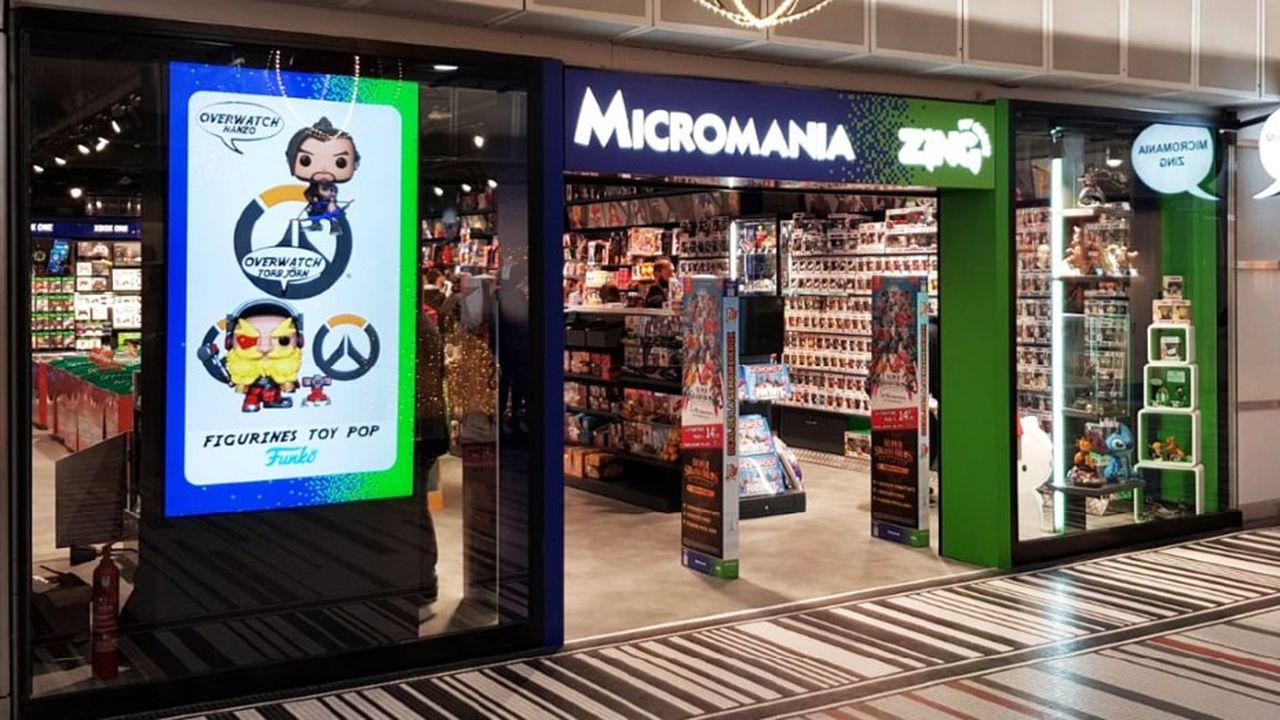 Micromania est la filiale française de GameStop, dont le cours s'est envolé de 685% cette année.