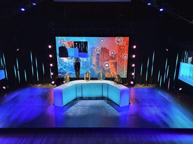 L'un des studios TV ouvert par Châteauform 'aux Docks de Paris.