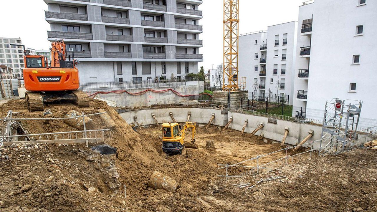 La crise sanitaire a porté un coup à la construction de logements.