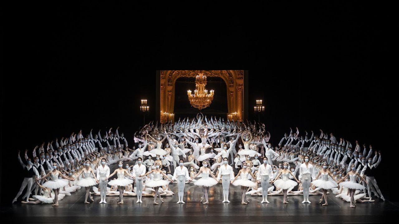 Le 6e gala d'ouverture de la saison de danse au Palais Garnier a eu lieu sans public.