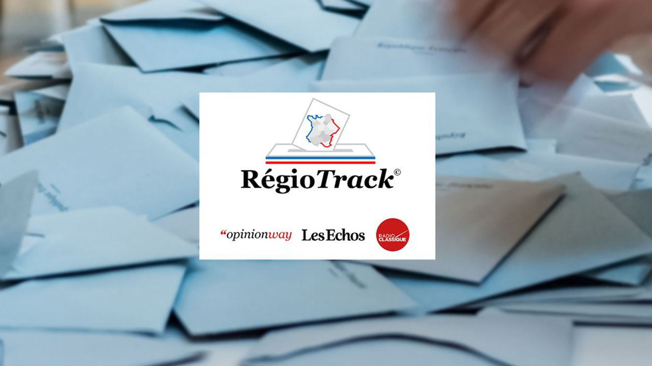 Le baromètre mensuel RégioTrack permet de suivre l'évolution des rapports de force électoraux lors des élections régionales 2021 et de comprendre les tendances du scrutin dans chacune des 12 régions de métropole.