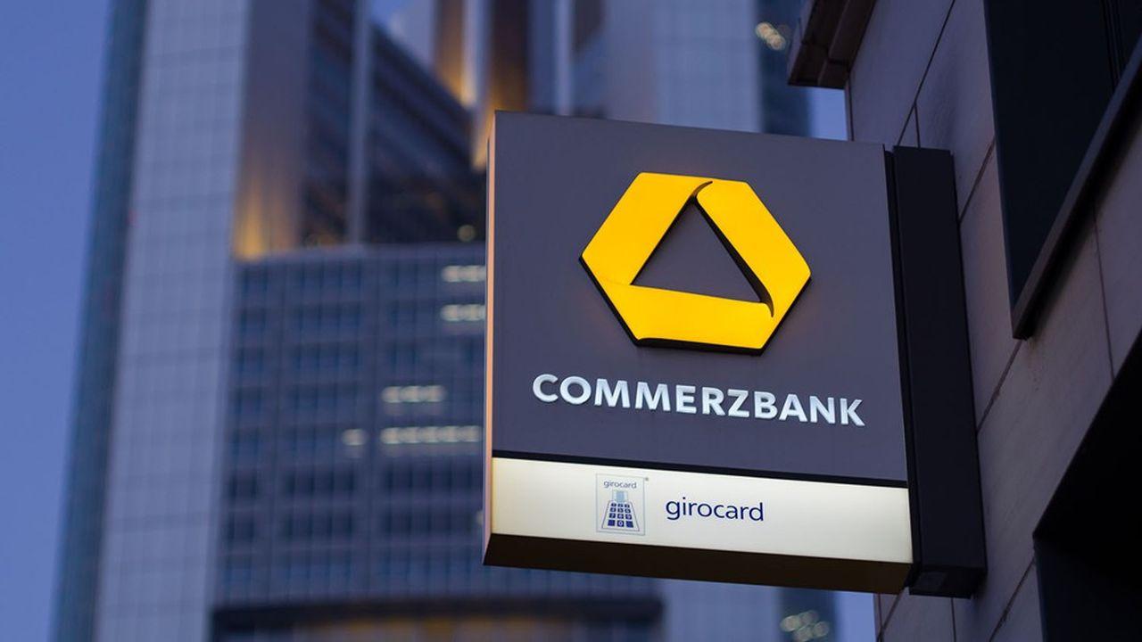 En pleine crise existentielle, Commerzbank affichait 162millions de pertes fin 2020