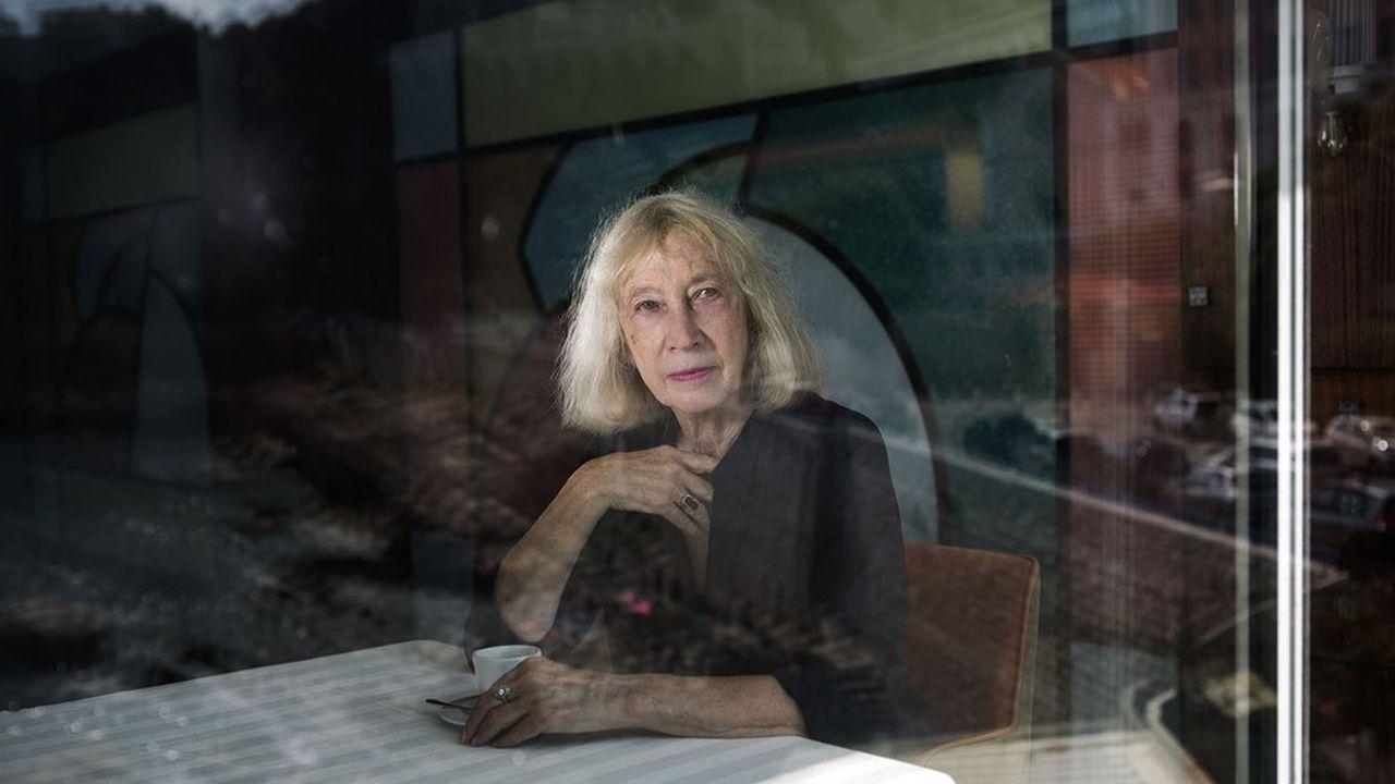 Chantal Thomas a été élue le 28janvier à l'Académie française, au fauteuil autrefois occupé par Jean d'Ormesson.